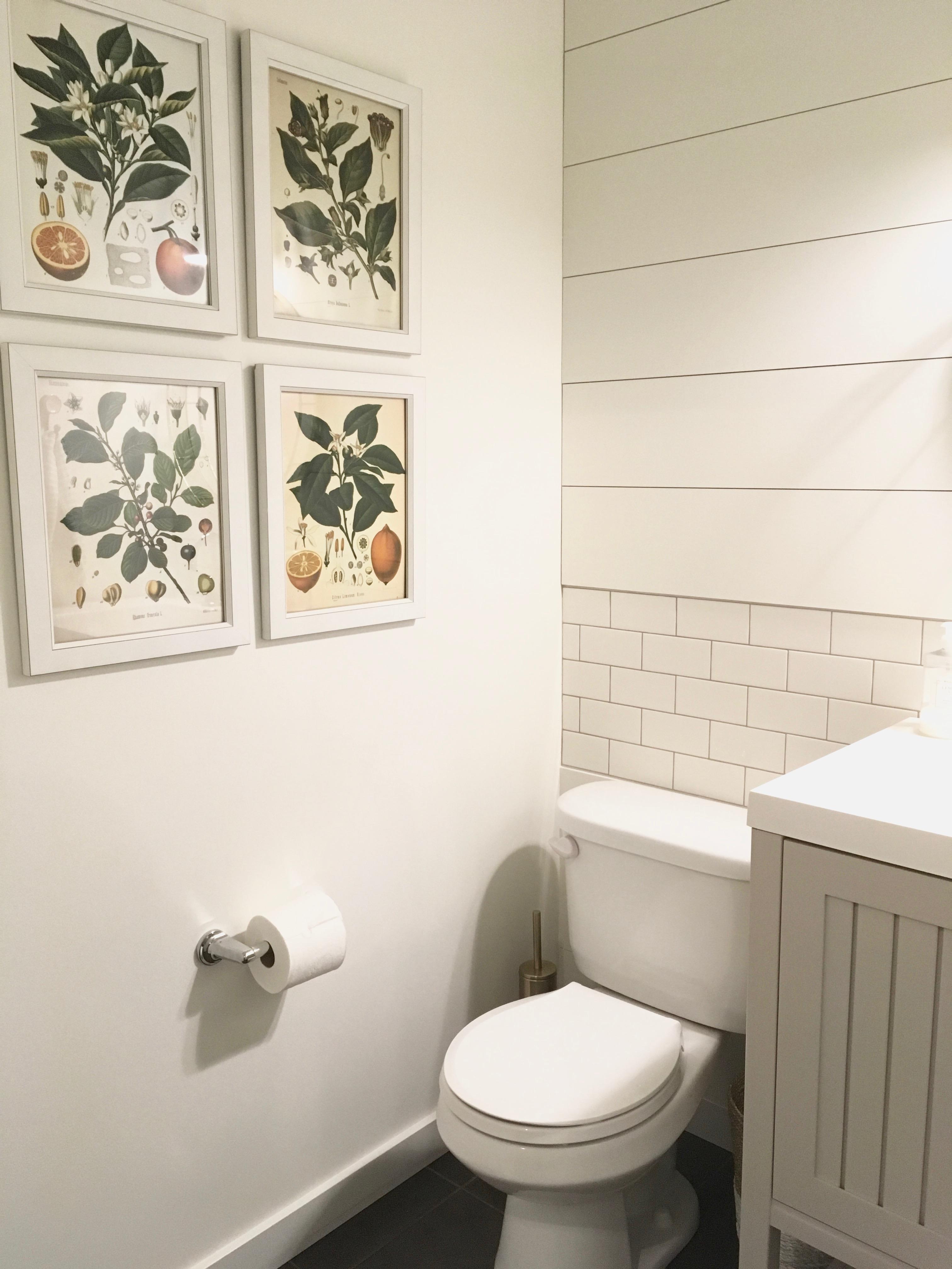 Lake House Mudroom Bath Reveal